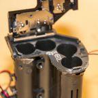 Батарейный отсек после реконструкции