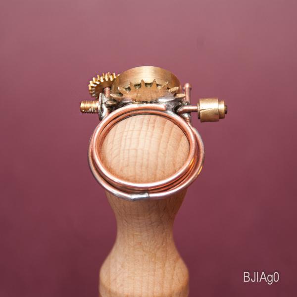 Кольцо в стиле Стимпанк